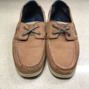 Sperry Top Siders Boys Shoes Lanyard Loafers 5.5 M